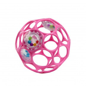 Oball Rattle - pink