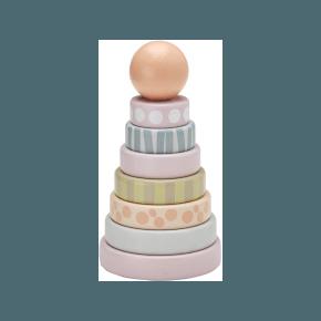 Kids Concept Stabeltårn - Edvin, Pink