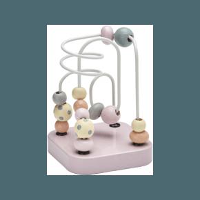 Kids Concept Kuglelabyrint - Edvin, Pink