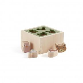 Kids Concept EDVIN  puttekasse - fire brikker