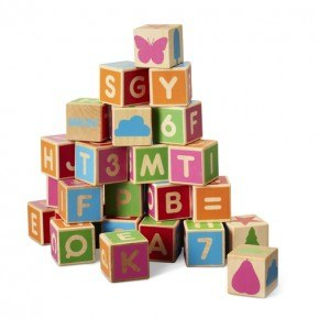 Micki byggeklodser - Alfabetet