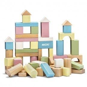 Micki byggeklodser - Pastel
