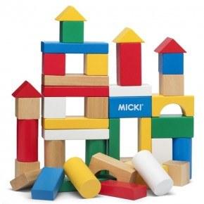 Micki byggeklodser - Classic, 40 stk.