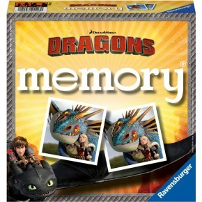 Ravensburger - Dragons memoryspil