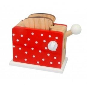 Magni Toaster - Rød m. prikker