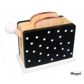Magni Toaster - Sort m. prikker