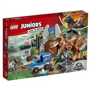LEGO Juniors - T. rex Bryder Ud - 10758