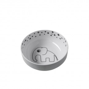 Done By Deer Yummy bowl - Happy dots grey