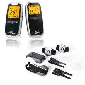 Neonate Babyalarm 5800 + monteringssæt - Sort