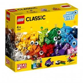 LEGO Classic, Klodser og øjne - 11003