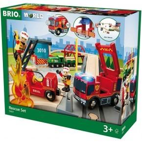 BRIO World - Togsæt med Redningstema - 33817
