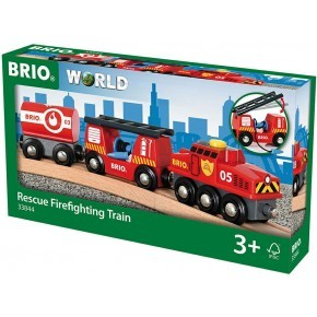 BRIO - Redningstog m/vogne