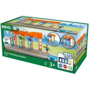 BRIO Smart Tech Togvaskehal - 33874