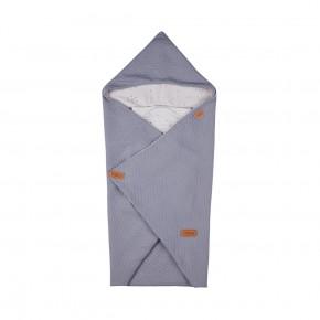 Voksi Baby Wrap - Light Grey Star
