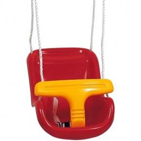 Baby gynge deluxe - Rød/gul