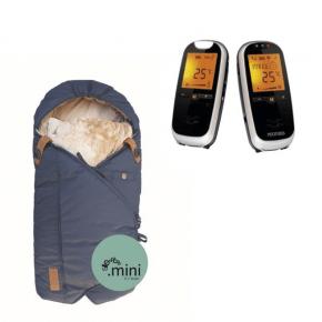 Neonate BC6500D Babyalarm + Sleepbag Mini - Midnight Petrol