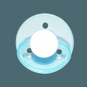 Mininor Rund Narresut Silikone 0m+ 2-pak - Blå