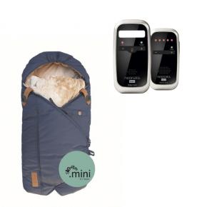 Neonate BC4600D Babyalarm + Sleepbag Mini - Midnight Petrol