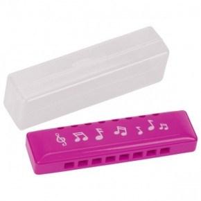 Goki Mundharmonika i plastikboks - Pink