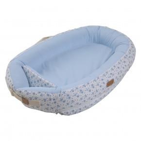 Voksi Premium blue moon babynest - blå