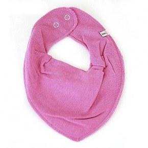 Pippi smæktørklæde - dark rose