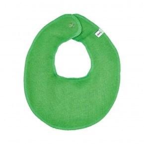 Grøn rund hagesmæk - Pippi