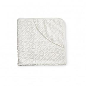 Cam Cam Babyhåndklæde med Hætte - Off-White