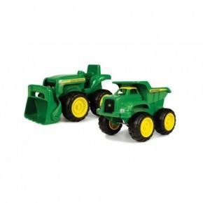 John Deere - Mini sandboks traktor og dump truck sæt
