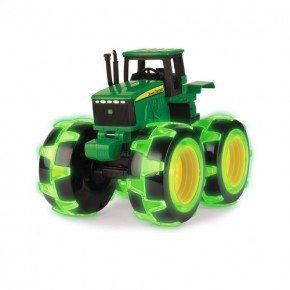 """John Deere - Monster Treads Light Wheels 8"""" Traktor"""