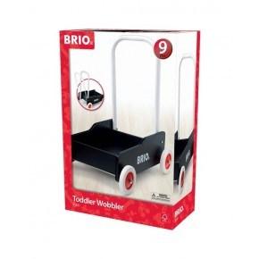 BRIO gåvogn - sort - 31351