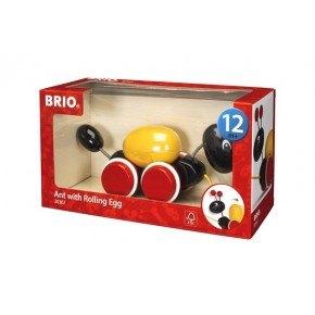 BRIO Pull Along Myre med æg - 30367