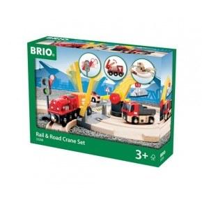 BRIO World - Tog- og Vejbane Kransæt - 33208