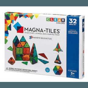 Magna Tiles 32 brikker -  Klare farver
