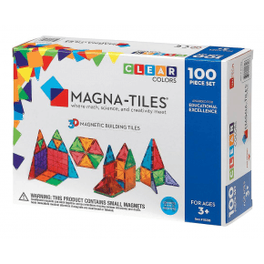 Magna Tiles 100 brikker - Klare farver