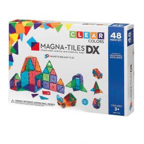 Magna Tiles 48 brikker  - Klare farver