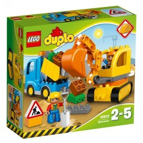 Lego Duplo - Trucks and Tracked Excavator