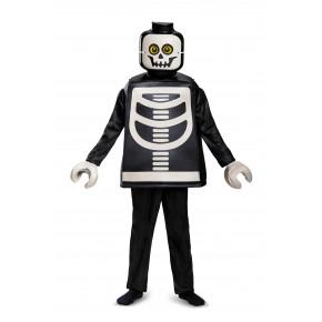 LEGO Kostume, Str; 4-6 år - SKELETON DELUXE