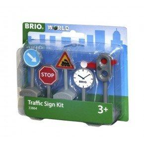BRIO World - Sæt med Trafikskilte - 33864