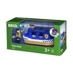 BRIO World - Politibåd - 33820
