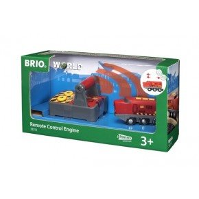 BRIO World Fjernstyret lokomotiv - 33213