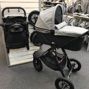 Baby Jogger Deluxe Pram - Slate