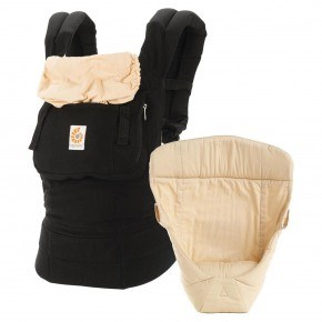 Ergobaby Original Bæresele Bundle - Black/Camel