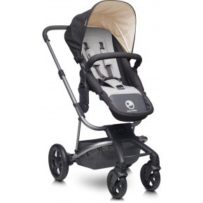 Easywalker Kombivogn Harvey - Coal Black