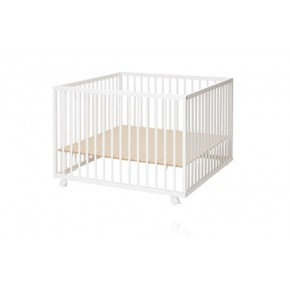 Baby Dan Comfort kravlegård 99x99 cm - Hvid