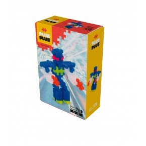 Plus Plus Mini Robot 70 stk. - Neon