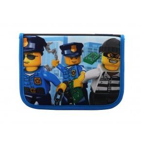 LEGO City penalhus m. indhold - Politihelikopter