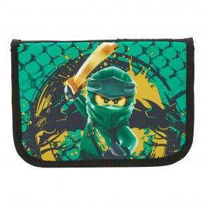 LEGO Ninjago Green Penalhus m. Indhold - grøn