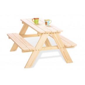 Pinolino Havemøbelsæt til børn, 4 pers - Nicki, Fyr