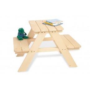 Pinolino Havemøbelsæt til børn, 2 pers - Nicki, Fyr