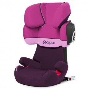 Cybex Solution X2-Fix Autostol - Purple Rain